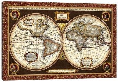 Decorative World Map Canvas Art Print