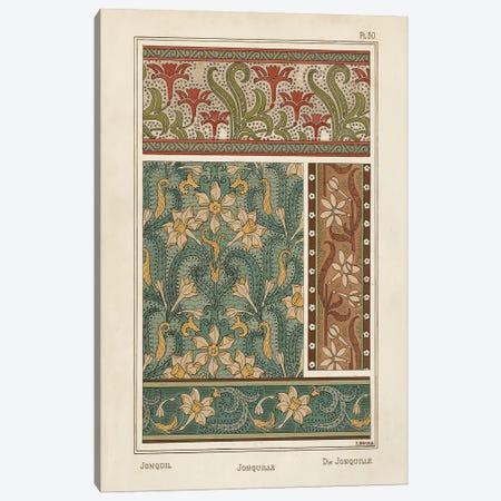 Nouveau Decorative III Canvas Print #VSN658} by Vision Studio Canvas Art Print
