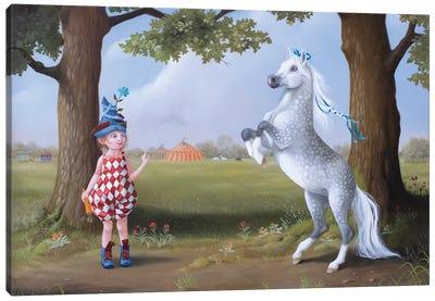 Circus Pony Canvas Art Print