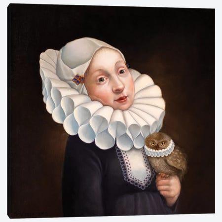 Collars Canvas Print #VSS11} by Suzan Visser Canvas Artwork