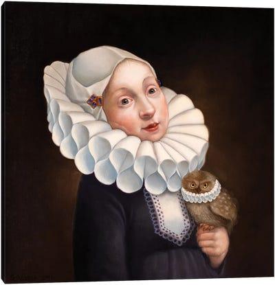 Collars Canvas Art Print