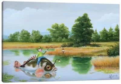 Lanternfish Canvas Art Print
