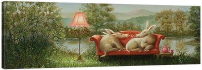 Aardvarks Canvas Art Print
