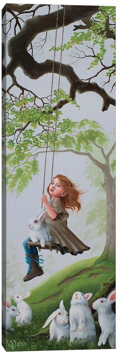 Morning Swing Canvas Art Print