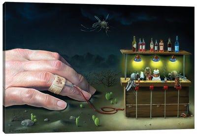 Mosquito Bar Canvas Art Print