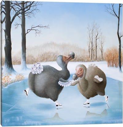 Swing Or Swirl Canvas Art Print