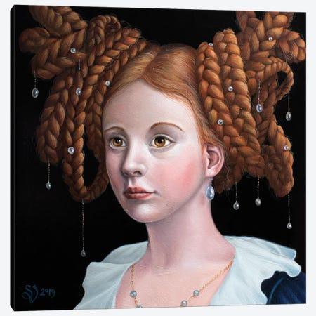 Wicker Work Canvas Print #VSS30} by Suzan Visser Canvas Wall Art