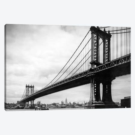 1930s View Of Manhattan Bridge, New York City, NY, USA Canvas Print #VTG135} by Vintage Images Canvas Art Print