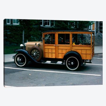 1930s Wood Body Station Wagon Antique Automobile Canvas Print #VTG140} by Vintage Images Canvas Art Print
