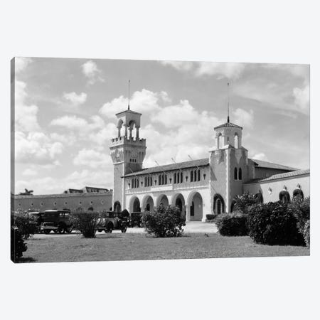 1930s-1940s La Playa Beach Bathhouse Havana Cuba Canvas Print #VTG156} by Vintage Images Art Print