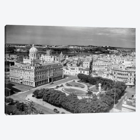 1930s-1940s Presidential Palace Seen From Sevilla Hotel Havana Cuba Canvas Print #VTG164} by Vintage Images Canvas Art