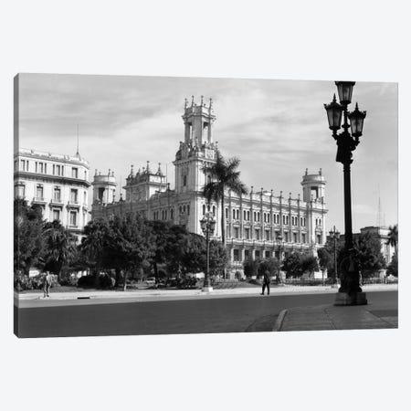 1930s-1940s The Asturian Club Now A Fine Art Museum Havana Cuba Canvas Print #VTG176} by Vintage Images Canvas Art Print