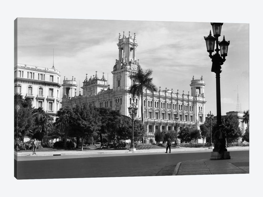 1930s-1940s The Asturian Club Now A Fine Art Museum Havana Cuba by Vintage Images 1-piece Canvas Artwork