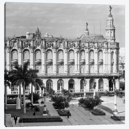 1930s-1940s The Great Theater Of Havana Cuba Canvas Print #VTG179} by Vintage Images Canvas Wall Art