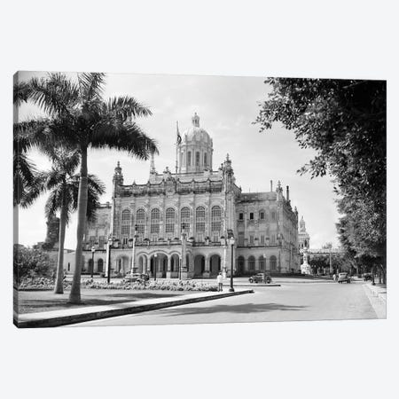 1930s-1940s The Presidential Palace Havana Cuba Canvas Print #VTG181} by Vintage Images Art Print