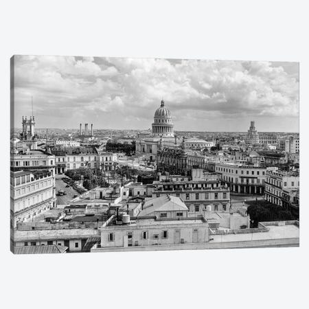 1930s-1940s View From Sevilla Hotel Of Capitol Building Skyline Of Havana Cuba Canvas Print #VTG186} by Vintage Images Canvas Artwork