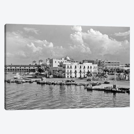 1930s-1940s View From The Bay Havana Cuba Canvas Print #VTG187} by Vintage Images Canvas Artwork