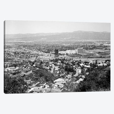 1940s View Overlooking Universal City Ca USA 3-Piece Canvas #VTG232} by Vintage Images Art Print
