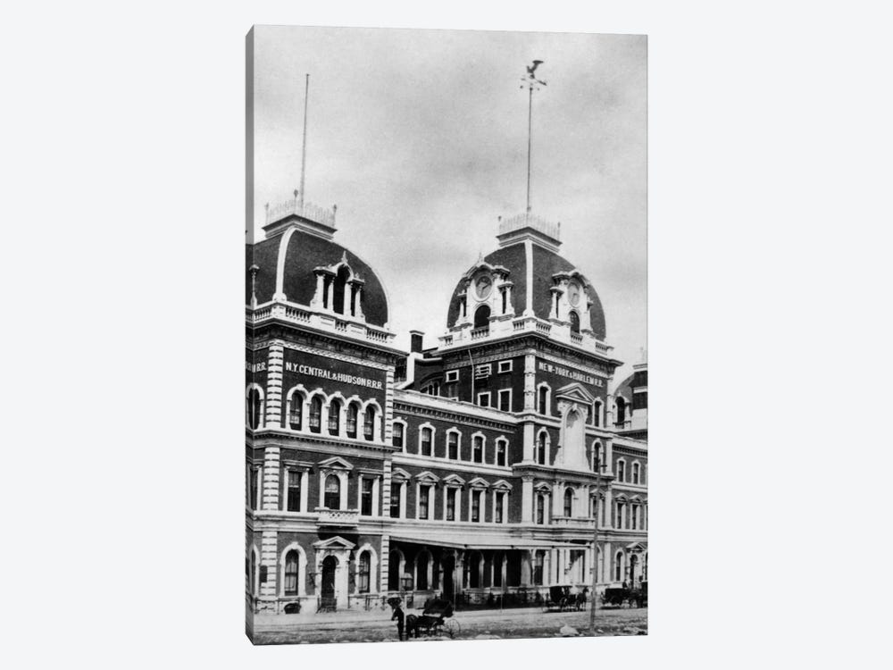 1871 Grand Central Depot New York City USA Demolished by Vintage Images 1-piece Canvas Wall Art