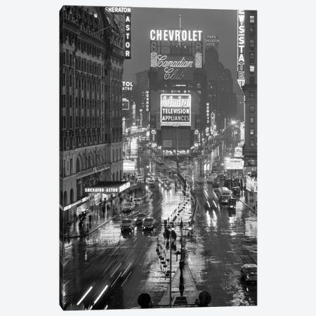 1950s Times Square New York City Looking North To Duffy Square Manhattan USA Canvas Print #VTG356} by Vintage Images Canvas Print