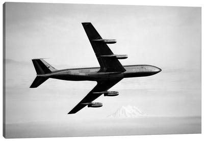1950s-1960s Boeing 707 Jet Airplane Canvas Art Print