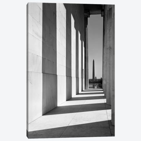 1950s-1960s Washington Monument Seen From Lincoln Memorial Washington Dc USA Canvas Print #VTG388} by Vintage Images Canvas Print
