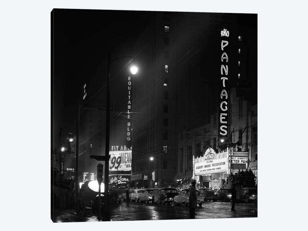 1953 Pantages Theater Academy Awards Ceremony First Televised Broadcast Los Angeles California USA by Vintage Images 1-piece Art Print