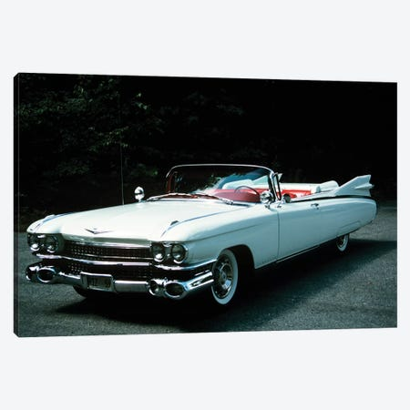 1959 El Dorado Biarritz Cadillac Convertible II 3-Piece Canvas #VTG395} by Vintage Images Canvas Art Print
