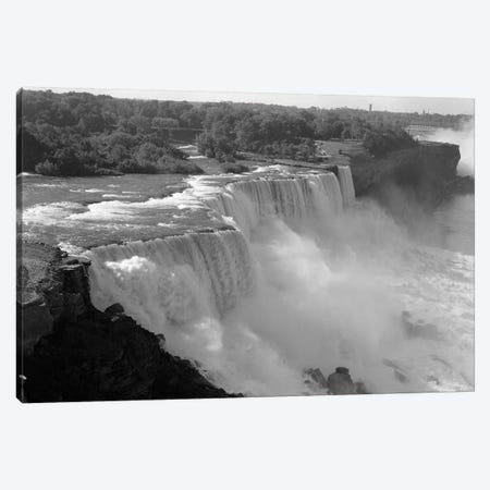 1960s American Falls Portion Of Niagara Falls New York USA Canvas Print #VTG398} by Vintage Images Canvas Wall Art