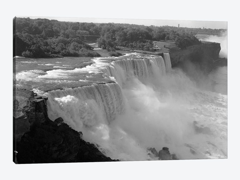1960s American Falls Portion Of Niagara Falls New York USA by Vintage Images 1-piece Canvas Print