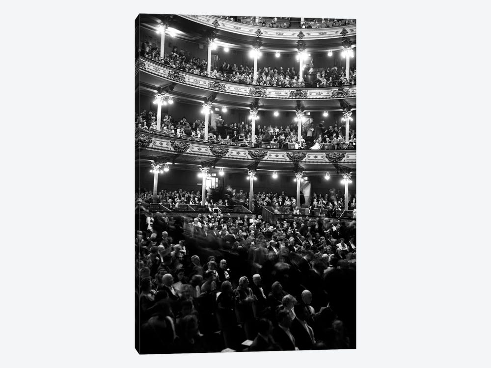 1960s Audience In Seats And Balconies Of The Academy Of Music Philadelphia Pennsylvania USA by Vintage Images 1-piece Canvas Artwork