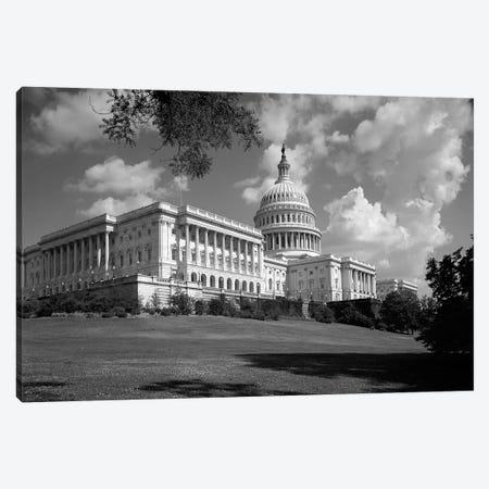 1960s Capitol Building Dome Senate House Representatives Congress Washington Dc USA Canvas Print #VTG411} by Vintage Images Canvas Print