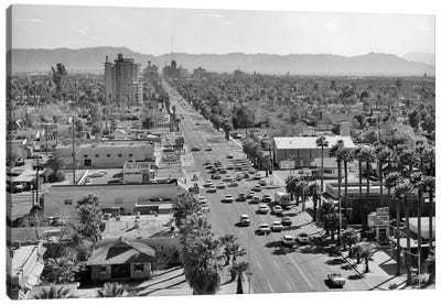 1960s Downtown Phoenix Arizona USA Canvas Art Print