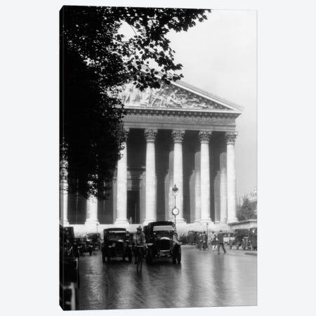 1920s La Madeleine Paris France Canvas Print #VTG41} by Vintage Images Canvas Art