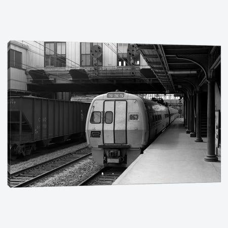 1960s Metroliner Passenger Train Stopped At Station Canvas Print #VTG436} by Vintage Images Canvas Art