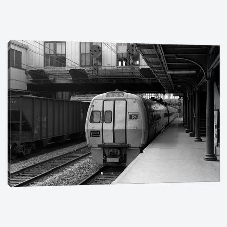 1960s Metroliner Passenger Train Stopped At Station Canvas Print #VTG436} by Vintage Images Canvas Art