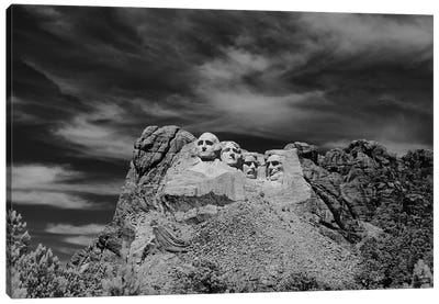1960s Mount Rushmore Canvas Art Print