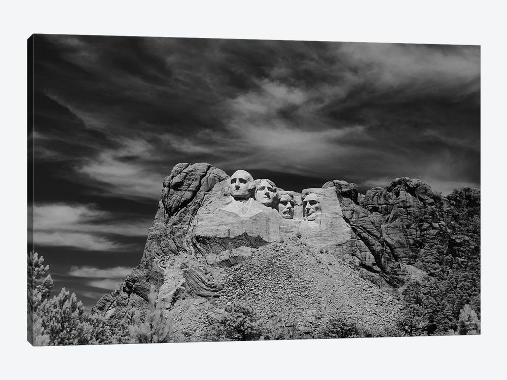 1960s Mount Rushmore by Vintage Images 1-piece Canvas Print