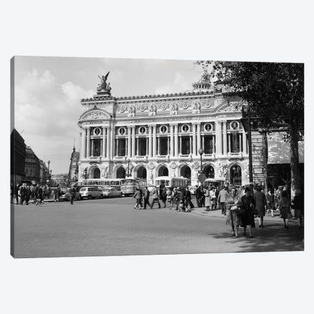 1960s Palais Garnier At Place de l'Opera Paris France Canvas Print #VTG447} by Vintage Images Canvas Art Print