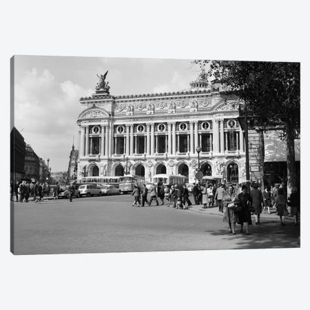 1960s Palais Garnier At Place de l'Opera Paris France Canvas Print #VTG447} by Vintage Images Canvas Art Print
