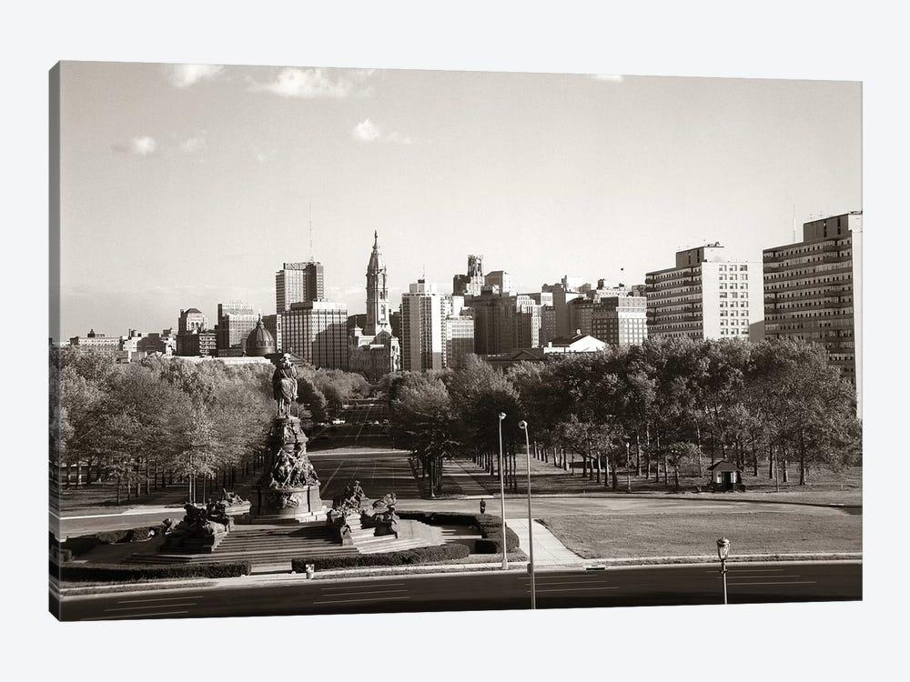 1960s Skyline Philadelphia Pennsylvania USA by Vintage Images 1-piece Art Print
