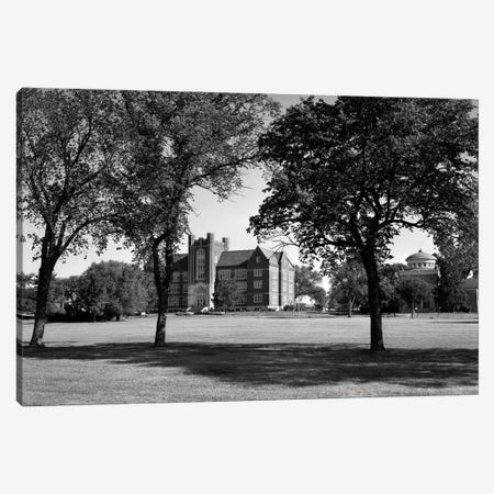 1970s Campus Of Emporia College In Kansas With Brick Buildings Nestled Among Trees Canvas Print #VTG479} by Vintage Images Canvas Print