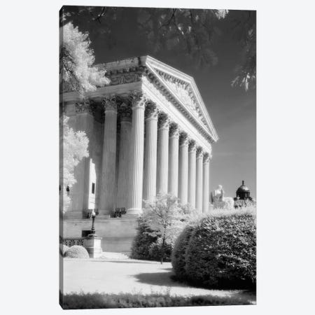 1970s Infrared Photograph Front Of Supreme Court Building Washington Dc USA Canvas Print #VTG484} by Vintage Images Canvas Print