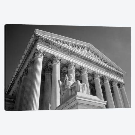 1980s Federal Supreme Court Building Low Angle Front Shot Washington Dc USA Canvas Print #VTG502} by Vintage Images Canvas Print