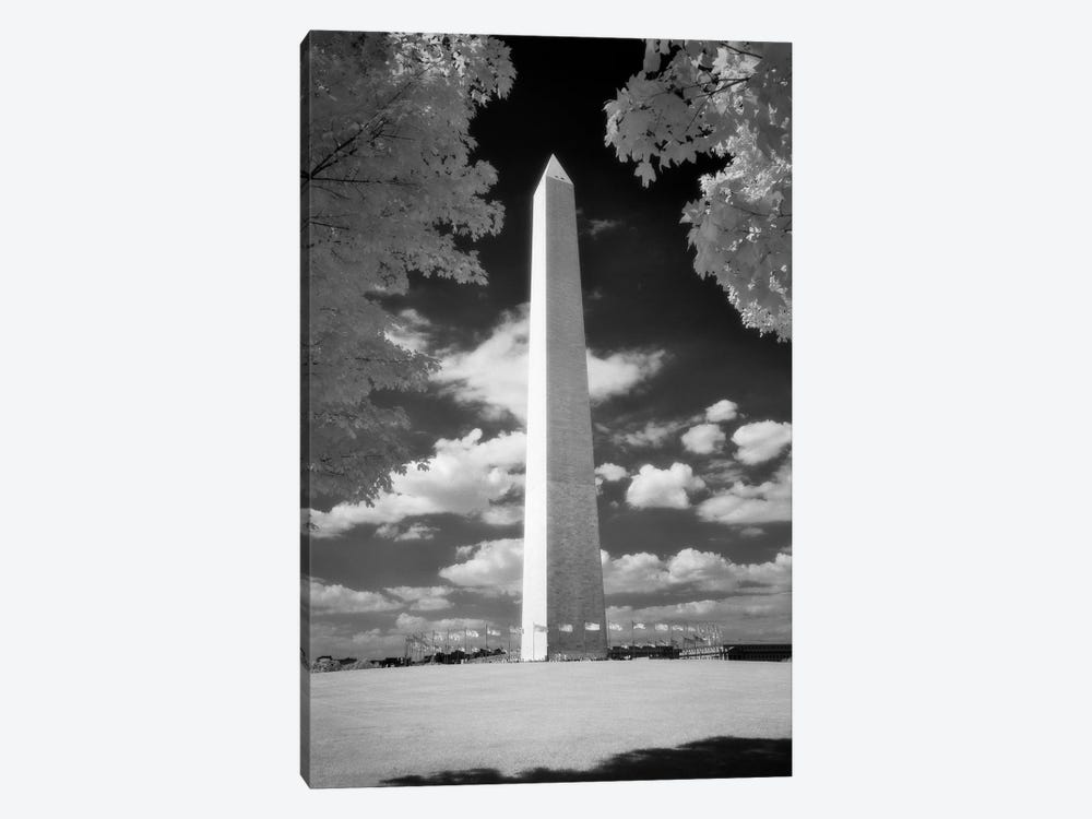 Infrared Photograph Of Washington Monument Washington Dc USA by Vintage Images 1-piece Canvas Wall Art