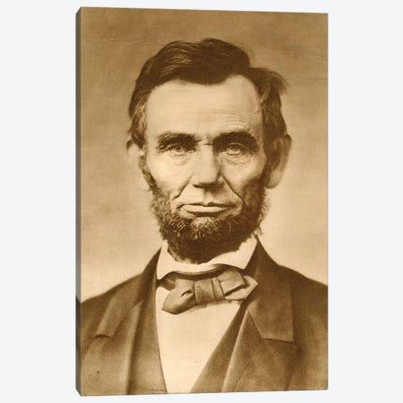 November 1863 Photograph Portrait Of Abraham Lincoln By Gardner Canvas Print #VTG528} by Vintage Images Canvas Art Print