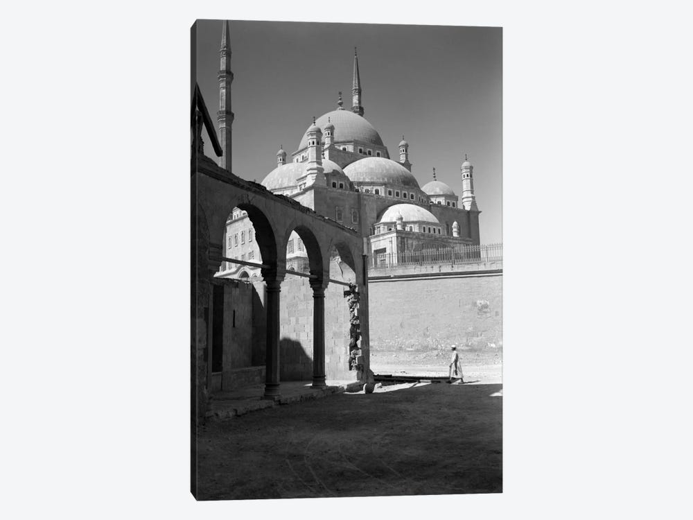 1920s-1930s Cairo Egypt Architectural View Of The Muhammad Ali Alabaster Mosque In The Citadel Built In 1840s by Vintage Images 1-piece Art Print