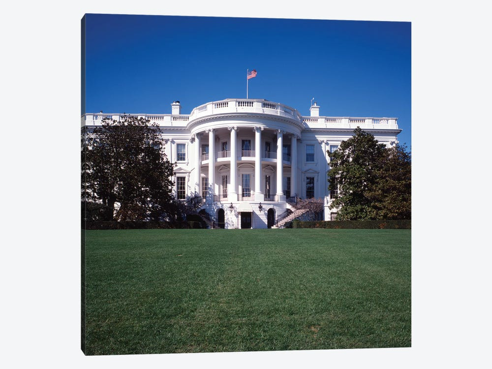 1970s The White House Washington DC, USA by Vintage Images 1-piece Canvas Print