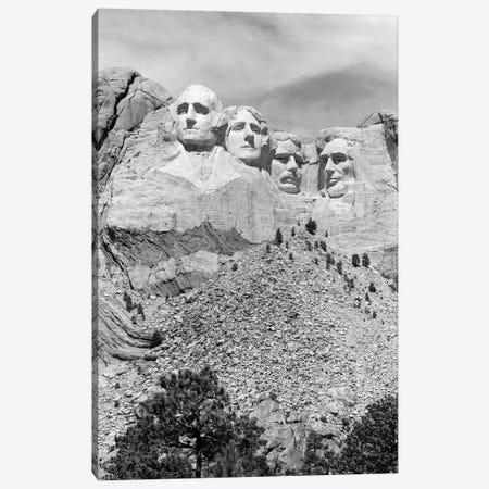 Mount Rushmore South Dakota USA 3-Piece Canvas #VTG630} by Vintage Images Canvas Art Print