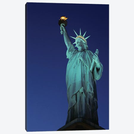1990s Statue Of Liberty New York City New York USA Canvas Print #VTG707} by Vintage Images Canvas Artwork